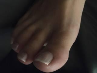 I love her feet !