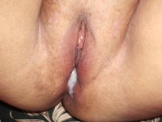 Wife getting a creampie