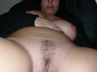 WOW!! YES, YES, YES!! I would feast on your incredibly gorgeous pussy lips, labia, and hood. I would make your beautiful pussy squirm, quiver, shake, and squirt with pure passion, pleasure, and ecstasy. Lots of kisses.