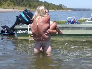 some friends we met at a nudist resort fooling around