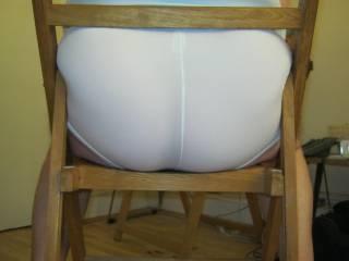 Lick my arse through my tight white shorts
