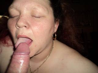 sucking and licking cock like a good wife