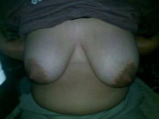 my girlfriend big ol titties