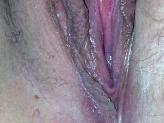 I want to suck your clit and tongue fuck your pussy until you are cumming all over my face then I will fill it with my cock and cum.