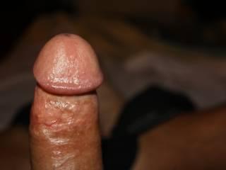 I'd like to suck on it, and suck on it, and suck on it....wanna cum in my mouth?  Wanna fuck?  Mrs. K