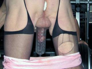 look very horny here - would love to pump you up.