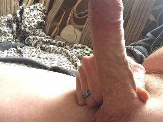 I'd start by sucking on your cock and balls, getting you good and hard and my pussy nice and wet.then I'd open my legs and lower myself on to your cock.I want to feel you hit the deep parts of my cunt. I want you to fuck me hard so I have trouble sitting down the next day. I want my pussy filled with your cock and cum.Betty