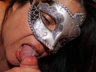 Hubby loves it when I lick his cock head like this!  Would you like it?