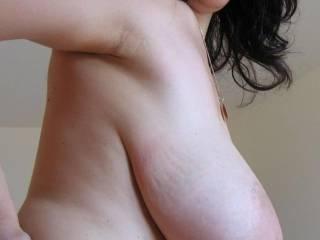 My saggy titties