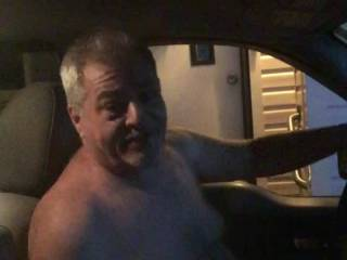 I was dared to get in my truck naked drive to a customer's house ( and friend) and deliver a package in the nude