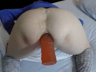 A lot of times guys get so turned on having anal sex with me it doesn't take long for them bust loose. Which is all good. Butt, hey- grab that dong and let me feel it sloshing around in your cum, so that I get to cum, too!