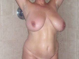 Shower time...Join her?