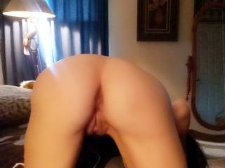 Who wants to slide into her hot little pussy?