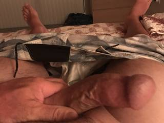 My hard throbbing cock!