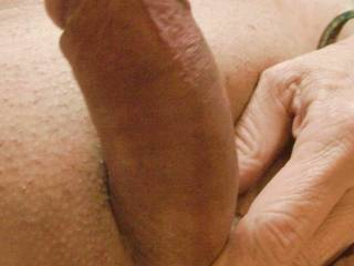 Nice hard thick cock. Who want to ride it?
