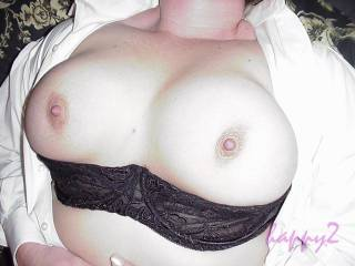 For the people who requested a closer boob shot from me.