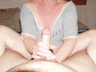He just loves a good Handjob...Dont you?