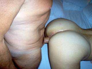 We met this guy with a 10 inch cock to fuck the wife