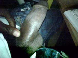 Beautiful,big,thick,black,chocolate dick. ;-)