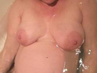 Would love to kiss and suck on those amazing titties and every inch of that body
