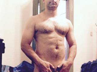 Very sexy and handsome! Fantastic cock...would love to make it hard!