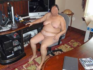 OK fellas...here is where I like to dildo fuck my pussy while I cruise around ZOIG and chat with my friends!