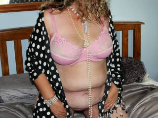 I have my bra on but where are my pretty pink panties?