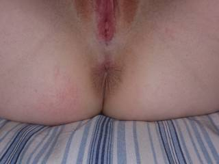 The wife\'s wet pussy and tight ass