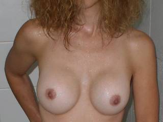 love to play with you sometime. hot tits. love to suck and kiss them