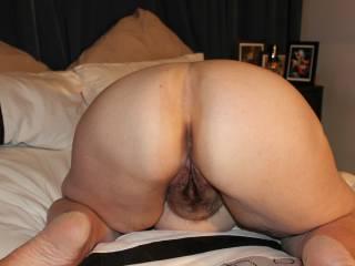 Three pics of my phat fuckable ass.