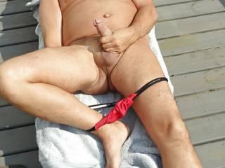 love Solo~Sex outdoors in the H0TT~SUNN!!!