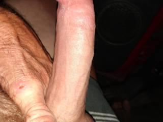 Watching my wife dp masterbating My cock so hard it hurts