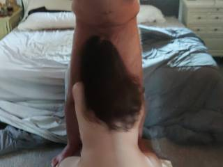 Weekend playtime with my Babyz huge delicious cock!  Yummy!