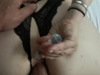 Fucking my wifes tight little ass