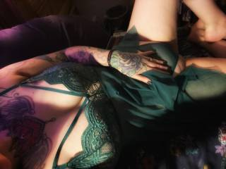 New emerald outfit, green with envy? Xx