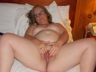 Mmmmmmmmm...I want to suck, lick and tongue that clit for you! Then I'd fill it up with MY hard cock and fuck your pussy raw!