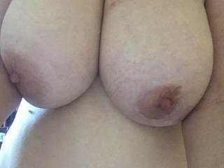 my girls juicy big tits