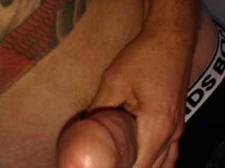 Just so hard thinking about watching my lady being fucked by another guys big cock