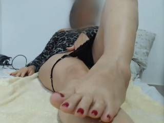 Teasing on cam with fingers down knickers