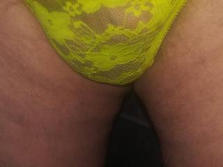 Modeling these sexy panties for my kinky friends!