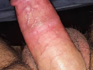 Getting ready to ride his massive cock who wouldn\'t wanna be me