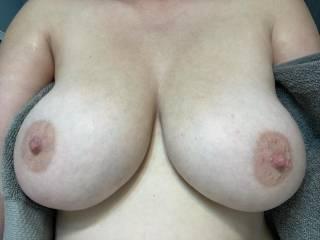 Do my bbc guys like these big white tits!?