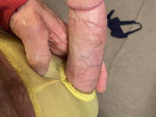 Don't get me wrong. I crave a wet pussy wrapped around this fuck machine. But after viewing and stroking to pics of all your magnificent cocks, I'm really craving some hot cock. I'd love to line up 5 of you and suck off one after another...