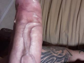 rick rod dripping with pre cum