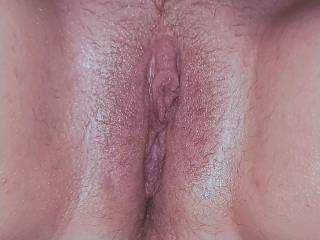 Midway through lightly pumping my milf\'s pussy and edging her with toys.