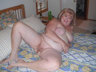 My thick cock would love to probe her hot holes, I'll be right over