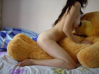 I am not your teddy bear but better to ride and get you fucked well!