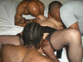 hot wife feeds black friends