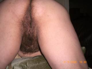 I wished you sat on my face with this gorgeously hairy pussy and ass!!