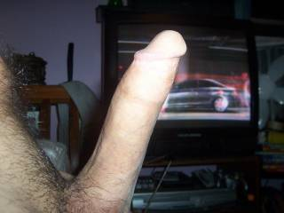 side view of my cock...what do you think
